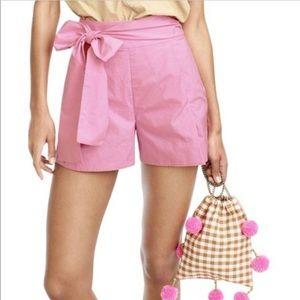 J Crew Pleated Poplin Dress shorts
